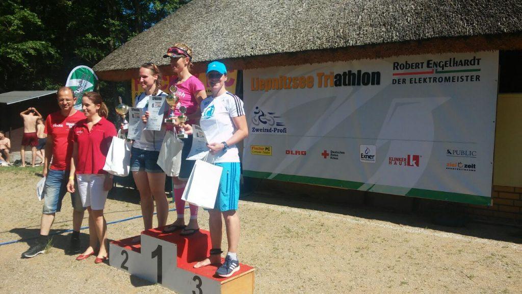 Virginia Platz 1, Sandra Platz 3 Olympische Distanz